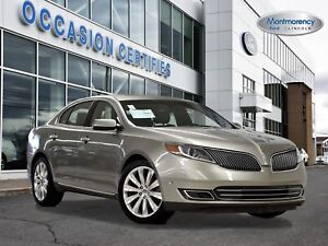 2016 Lincoln MKS EcoBoost TOIT+CUIR+GPS+CAMÉRA