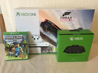 XBOX ONE WHITE CONSOLE - BRAND NEW AND SEALED FORZA HORIZON 3 BUNDLE