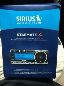 Complete Sirius satellite radio kit *Brand New*