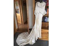 Bespoke Isabelle Randall Ivory Wedding Dress (Size 8)