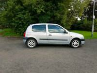 Renault Clio 2000 with One Year MOT - July 2018