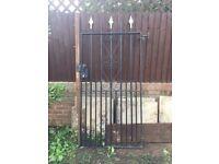 single iron gate