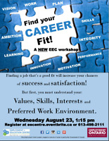Find your Career Fit at EEC!