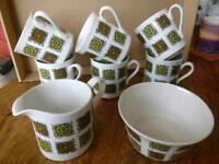 Myott 'Aztec' coffee set