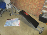 York Bodygym 2003 Multi-Gym Bench Fitness Pulley Workout Resistance Foldable USED
