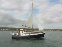HAVEN 26' CLASSIC Motorsailer RE-ENGINED VETUS DIESEL £9200