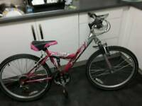 "Emmelletyphoon 24"" inch girls bike imaculate condition!"