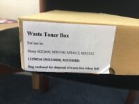 Waste Toner Box for Sharp Printers/Scanners