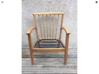 Small Vintage Retro Mid Century Easy Chair Danish Ercol Style GPlan Era Armchair