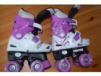 Girls quad skates 28-31