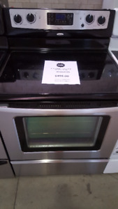 STOVES SMOOTH TOP STAINLESS STEEL STOVES
