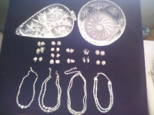 Pinwheel Crystal Glass Ware and Austrian Crystal jewelry 4 sale
