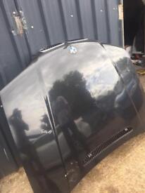 BMW e46 saloon bonnet preface lift