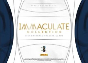 2017 Panini Immaculate Baseball Now Available @ Breakaway