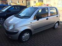 Daewoo matiz MOT 03/2018, cheap road tax