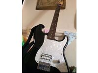 Electric guitar (Stagg) with guitar strap (MUST GO QUICK)