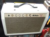 "Carlsbro SHERWOOD ELITE 30 Electro acoustic guitar amp. Solid state, 2 x 8 "" Celestions"