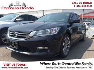 2013 Honda Accord Sedan SPORT | HEATED SEATS | REAR-VIEW CAMERA