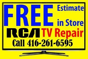LED, LCD, RCA TV REPAIR, No Power, No Picture, Blue, Red Light