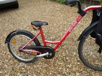 Fantastic Roland add-a-bike; tag-along for children aged 4-9