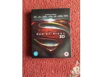Man Of Steel Blu Ray Limited Edition Steelbook
