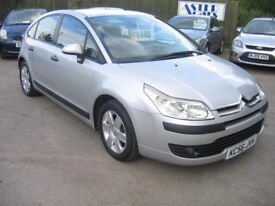 CITROEN C4 1.6 sx 5 DR HATCH IN SILVER, ALLOYS, VERY LOW MILEAGE, 2 KEYS, A CLEAN CAR, £!895