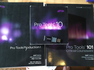 Pro Tools 10 w/ ILok and Courseware booklets