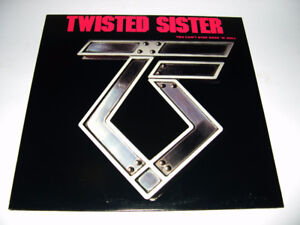 Twisted Sister - You can't stop R 'n' R (1983) LP heavy metal