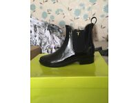 Black Ted Baker boots - Size 5 (fits like a 6/7) brand new, never been worn!