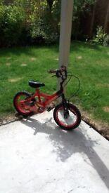 Boy's bike - bumper fire