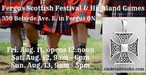 Fergus Scottish Festival & Highland Games, August 11-13