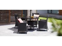 Garden / patio table and chairs - brand new