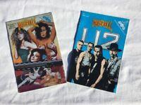2 RARE 1993 Rock N Roll Comics. U2 No 54 part 1. & WOMEN IN ROCK VOL.1 NO.1 By Revolutionary Comics.