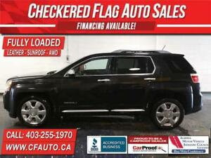 2014 GMC Terrain DENALI W/ AWD-NAV-SUNROOF-HEATED LEATHER