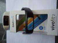 Garmin Vivo fit 2 Activity Tracker as new hardley used