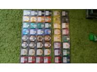 48 Minidiscs: TDK gold / RXG / Basf / PRO 80 / ... Top Bands + Artists