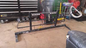 Universal back rack