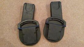 Urbo/Sola/Zoom Car Seat Adaptors - Maxi-Cosi Pebble, CabrioFix / BeSafe. Cybex Aton, Aton Q/Cloud Q