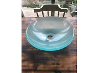 Frosted Glass Washbowl / Sink