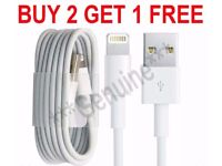 Apple iPhone and iPad Charger Cable 1m for iPhone 7 / 6 / 6s / 5 / 5s / 5c