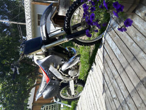 Honda CR250 need gone