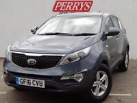 2016 Kia Sportage 1.7 CRDi ISG 1 5 door Diesel Estate