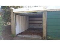 Garage available for rent in the Cowley area