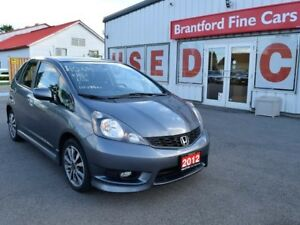 2012 Honda Fit Sport 4dr Hatchback