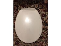 White Toilet Seat - soft closing