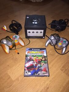 Game cube and Mario kart double dash
