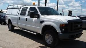 2008 Ford F350 XL 4x4, Crew Cab 8 Foot Long box, Trailer Package
