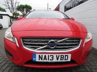 VOLVO V60 1.6 D2 ES NAV 5d 113 BHP (red) 2013