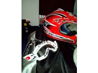 Interceptor helmet with bks goggles