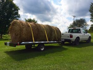 4X4 Round Bales Delivered/unloaded!